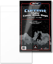 (100) BCW CUR-M2 Current Age Modern MYLAR 2mil Sleeves Bags Covers Store Protect