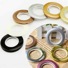 40mm Curtain Rings Blinds Slide Circle Loops Drapery Decor Eyelet Ring Low Noise