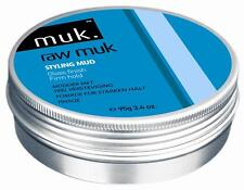 Raw Muk Hair Wax Styling Mud 95g - Firm Hold with a Shine!