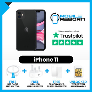 Apple iPhone 11 - 64/128/256GB Very Good Condition(Grade B)-All Colours-Unlocked
