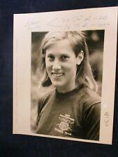 1986 Sandy Kendall World Championship rower Weston MA Glossy Press Photo
