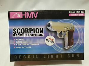 HMV SCORPION RECOIL LIGHT GUN FOR PLAYSTATION 1 - NEW
