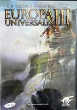 ** Europa Universalis III ( 3 ) ** PC DVD GAME ** Brand new Sealed **