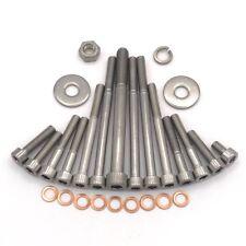 MZ ETZ 250 Motor Zylinderschrauben mit Innensechskant aus Edelstahl 27 teilig