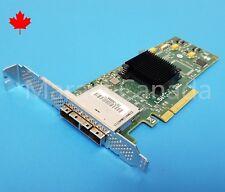 LSI MegaRAID Dual Port SATA SAS 9200-8e 6Gb HBA PCIe RAID Controller HP LP