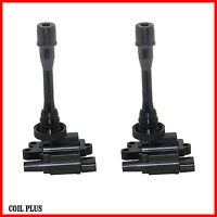 2 x Brand New Ignition Coil for Mitsubishi Lancer Pajero Outlander Waja 4Cyls
