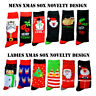 Unisex Mens Womens Xmas Christmas Socks Gift Sox Novelty Stocking Filler 6-11 UK