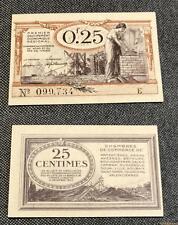 Nécessité - 25 Centimes Chambre de Commerce Nord Pas de Calais NEUF Série E 0997