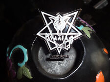 Running Wild Badge Pin Metal till death force 1983 Heavy/Power/Speed Metal