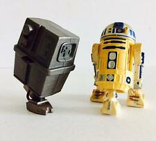 """HASBRO STAR WARS 3.75INCH POWER OF THE FORCE """" R2-D2 & GONK DROID """" - RARE"""