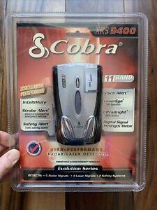 COBRA XRS 9400 Radar Laser Detector 11 Band LaserEye 360 Detection Voice Alert