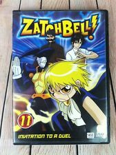 Zatch Bell ZatchBell! Volume 11 - Invitation To A Duel DVD Anime Series NEW