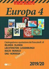 UNIFICATO CATALOGO EUROPA VOLUME 4   2019/20 NUOVO