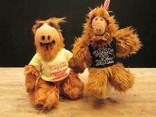 Lot 2 ALF TOYS - Born to Rock PUPPET & Earth is nice but I... STUFFED DOLL 1988