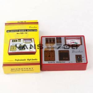 Demagnetizer Quartz Watch Impulse Button Battery Check Coil IC Tester Tool