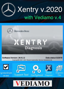 Mercedes Xentry Diagnostics with vediamo pass thru 2020 Download Teamviewer