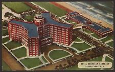 USA. New Jersey. Hotel Berkeley-Carteret. Asbury Park. Vintage Linen Finish Card