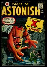 Marvel Comics TALES To ASTONISH #20 X The Thing That Lived VG+ 4.5
