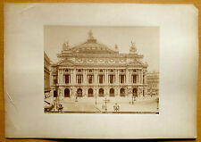VINTAGE Photograph 19th century. PARIS-OPÉRA. Atelier Jeanne d'Arc 1884. Albumen
