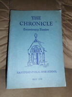 Rare Book The Chronicle Terrentenary Number Hartford Public High School May 1938