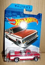 Hot Wheels Sam Walton's 1979 Ford F-150 Truck Wal-Mart Exclusive Rubber tires