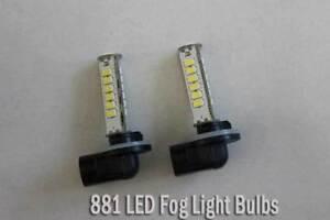 2pcs LED 881 H27W/2 White LED Fog Light Bulb for Hyundai Elantra
