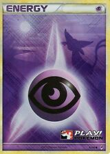 x5 Play Pokemon Holo Psychic Energy Call of Legends 92/95 MINT x5