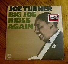 BIG JOE TURNER / BIG JOE RIDES AGAIN ~ 1987 Atlantic Album ~ NEW MINT ~ SEALED