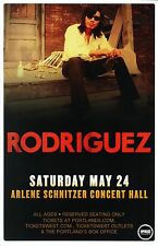 Sixto RODRIGUEZ 2014 Gig POSTER Cold Facts Portland Oregon Concert Sugar Man
