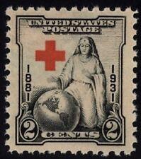 1931 2c Red Cross, 50th Anniversary Scott 702 Mint F/VF NH