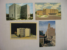 4 VINTAGE POSTCARDS VIEWS OF MAYO CLINIC BUILDINGS IN ROCHESTER MINNESOTA UNUSED