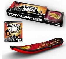 PS3 Tony Hawk SHRED Bundle Set Skateboard + Game Kit video playstation-3