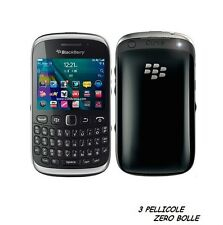 3 Pellicola per BlackBerry Curve 9320 Protettiva Pellicole SCHERMO DISPLAY LCD