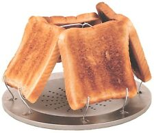 FOLDING 4 SLICE TOASTER compact fishing camping cooking breakfast glamping