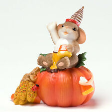 Charming Tails How's Your Holiday Halloween Mouse Figurine 4027680 Autumn NEW