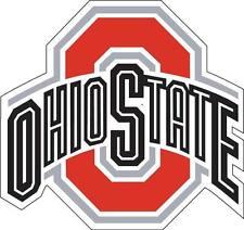 "Buckeyes Ohio State Columbus OSU Car Truck (2) 17"" x 17"" Sticker Decal Corn Hole"