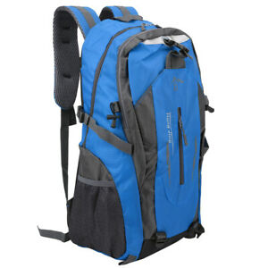 40Liter Waterproof Outdoor Sports Bag Backpack Travel Hiking Camping Rucksack UK
