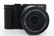 Fujifilm X-M1 Kit schwarz, top Zustand, extra Zubehörpaket