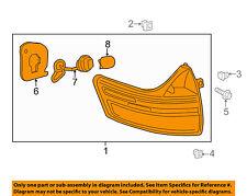 TOYOTA OEM 15-16 Sienna Taillight Tail Light-Rear-Combo Assy Left 8156008050