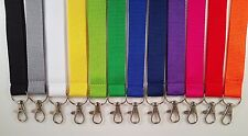 Printed and plain Lanyards - Personalised, custom,  plain or pre-text