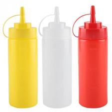 Guangcailun Maionese Insalata di Pomodoro Bottiglia di Compressione Tipo Ketchup dosatore Bagagli Dispenser