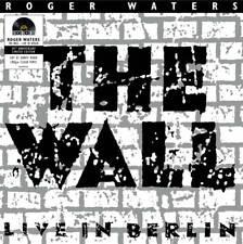 Roger Waters The Wall Live In Berlin 180g 2LP Clear Vinyl Gatefold RSD 2020