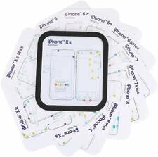 Magnetic Screw Chart Mat Repair Guide Pad for iPhone 6 6S 7 8 Plus X  XR XS Max