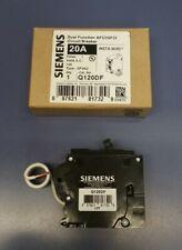 Siemens Q120DF Dual Function AFCI/GFCI Circuit Breaker 120VAC 20A QFGA2