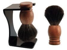 Dr.Dittmar Large Shaving Brush Real Cedar Wood Handle Pure Badger Hair