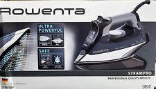 Rowenta Steampro Professional Iron 1800 Watt with Auto On/Off DW8194 German Made