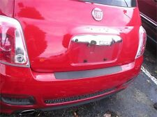 REAR BUMPER TOP SURFACE SCUFF PROTECTOR COVER FITS 2013 2016 FIAT 500 SPORT