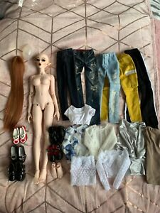 1/3 resin bjd feeple65 SD Chloe elf ooak huge lot