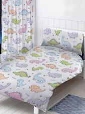dinosaures prêt à l'em Ploi rideaux chambre 168cmx137cm ENFANTS BLANC / Multi