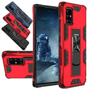 For Samsung Galaxy A51 4G Phone Case Shockproof Kickstand Armor Hard Cover